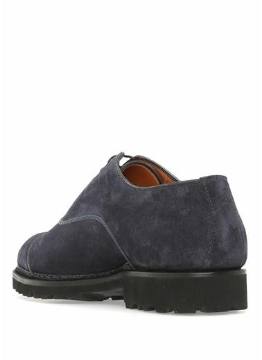 Bontoni Bağcıklı Klasik Süet Ayakkabı Lacivert
